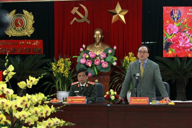 Đồng chí Bí thư Thành ủy Hoàng Trung Hải chỉ đạo nhiều nhiệm vụ giúp CATP Hà Nội, lực lượng CSGT Thủ đô hoàn thành tốt nhiệm vụ được giao