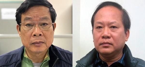 Bị can Nguyễn Bắc Son và Bị can Trương Minh Tuấn