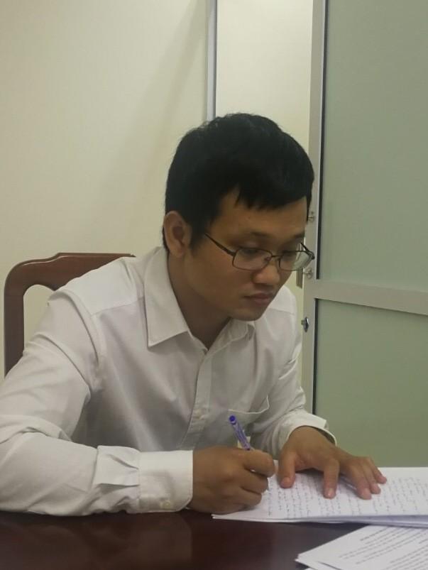 Bị can Hoàng Duy Quang, nhân viên Công ty Trách nhiệm hữu hạn tư vấn đầu tư và thẩm định AMAX, vai trò đồng phạm