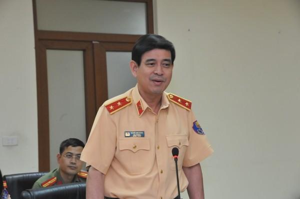 Trung tướng Vũ Đỗ Anh Dũng, Cục trưởng Cục CSGT khẳng định Cục CSGT sẽ tiếp tục chủ động và phối hợp hiệu quả với các cơ quan báo chí...để nâng cao công tác tuyên truyền Luật Giao thông đến với người dân
