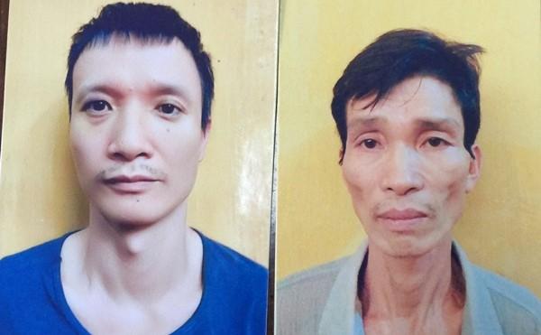 Hai đối tượng Bính và Hùng bị CAQ Cầu Giấy bắt giữ