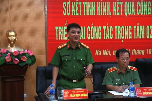 Đại tá Trần Ngọc Dương, Phó Giám đốc CATP Hà Nội đánh giá về công tác PCCC, CHCN ở Công an cơ sở