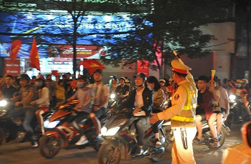 Lực lượng CSGT cũng như các đơn vị khác của CATP Hà Nội sẽ được huy động đảm bảo ANTT, TTATGT phục vụ trước, trong và sau trận đấu giữa 2 đội tuyển Việt Nam và Malaysia