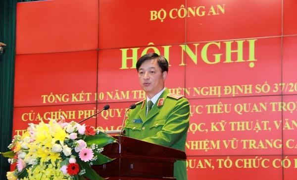 Thứ trưởng Nguyễn Duy Ngọc phát biểu khai mạc hội nghị