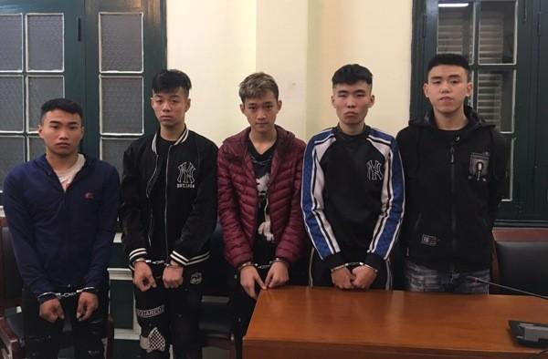 Chỉ sau 3 ngày điều tra truy xét, ổ nhóm cướp tài sản manh động đã bị lực lượng Cảnh sát hình sự bắt giữ