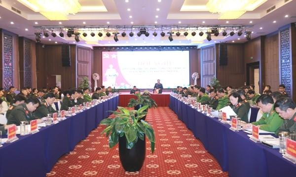 Dưới sự chủ trì của Thiếu tướng Đào Gia Bảo, các đại biểu tham dự Hội nghị đã tập trung thảo luận sôi nổi về công tác Đảng, công tác Chính trị trong năm 2020 của lực lượng CAND
