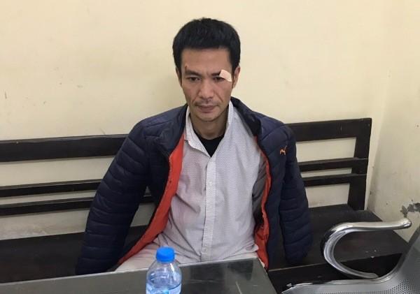 Đối tượng Nguyễn Đình Tiến trộm cắp bị bắt giữ
