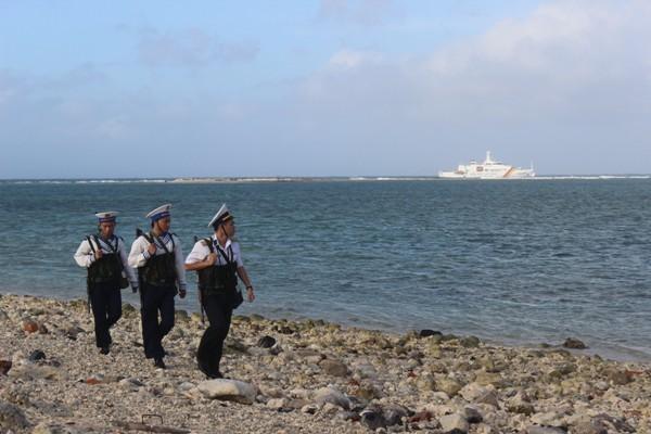 Những vai sắt chân đồng, mắt biếc Trường Sa canh giữ biển đảo quê hương trong bất cứ tình huống nào cũng không để bị động, bất ngờ