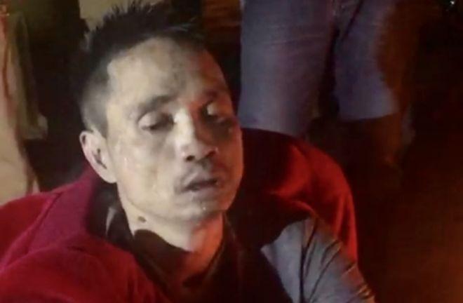 Đối tượng Tùng bị bắt giữ