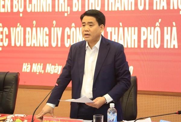 Chủ tịch UBND TP Hà Nội yêu cầu Đảng bộ CATP đẩy nhanh tiến độ Đại hội Đảng bộ Công an cấp cơ sở, để đáp ứng được yêu cầu nhiệm vụ đặt ra