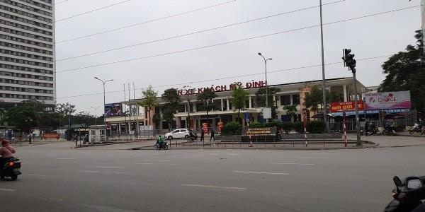 Bến xe khách Mỹ Đình cũng như các bến xe khách trên toàn thành phố đều thực hiện nghiêm quy định của việc cách ly