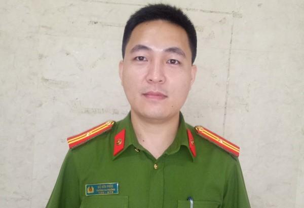 Thiếu tá Đỗ Hữu Phúc, Trưởng CAP Nam Đồng, quận Đống Đa