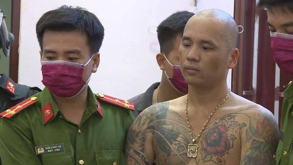 Đối tượng Thức bị lực lượng Công an tỉnh Bắc Ninh bắt giữ