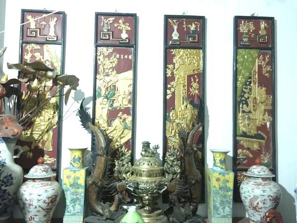 Số cổ vật có giá trị lớn về kinh tế, vô giá về giá trị văn hóa đã được Phòng Cảnh sát hình sự thu hồi từ đường dây trộm cắp, tiêu thụ tài sản do Toàn cầm đầu