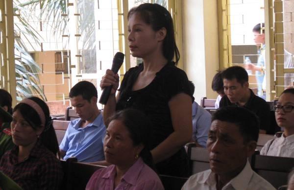 Trước tòa, nhân chứng mới Nguyễn Thị Thu Hà khẳng định Lý Nguyễn Chung không phải là hung thủ trong vụ án.
