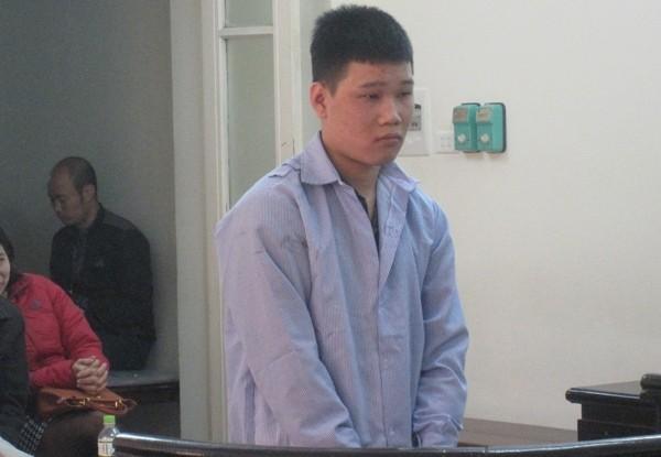 Bị cáo Phùng Thế Anh tại phiên tòa phúc thẩm