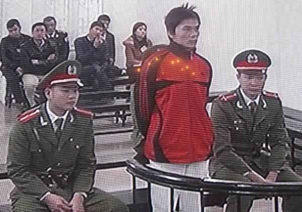 Bị cáo Nguyễn Viết Dũng tại phiên tòa phúc thẩm
