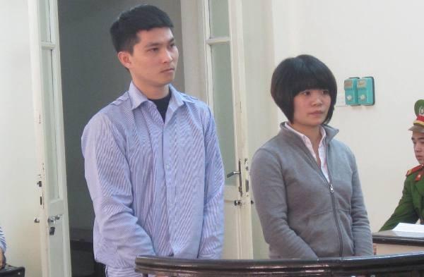 Cặp đôi phạm tội buôn ma túy Phạm Thị Thanh và bạn trai tại phiên tòa