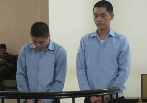 Hai trai làng lĩnh án vì đánh người sau va chạm giao thông