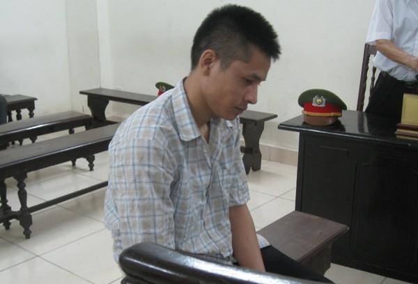 Bị cáo Nguyễn Văn Tùng tại phiên tòa