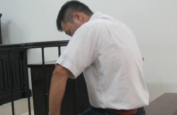 Bị cáo Kiều Đức Hạnh tại phiên tòa phúc thẩm