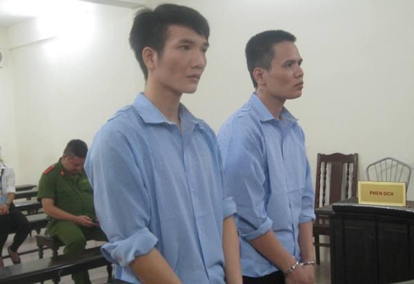 Hai anh em Đặng Hồng Quyền tại phiên tòa