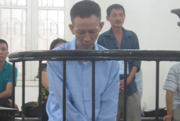 Bị cáo Nguyễn Văn Nho tại phiên tòa