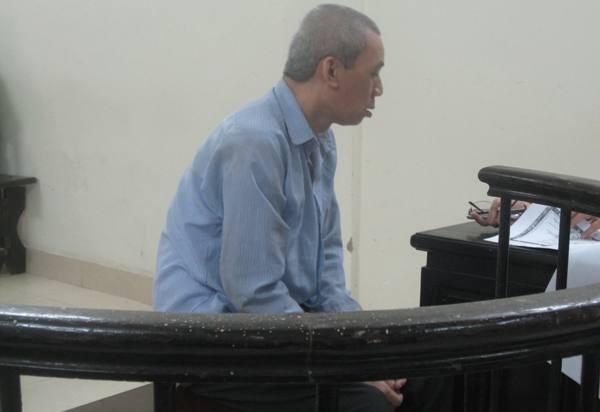 Bị cáo Dương Thanh Khoa tại phiên tòa