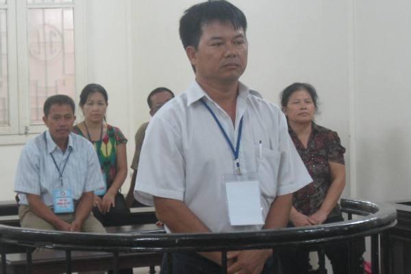 Bị cáo Lê Văn Phương tại phiên tòa phúc thẩm
