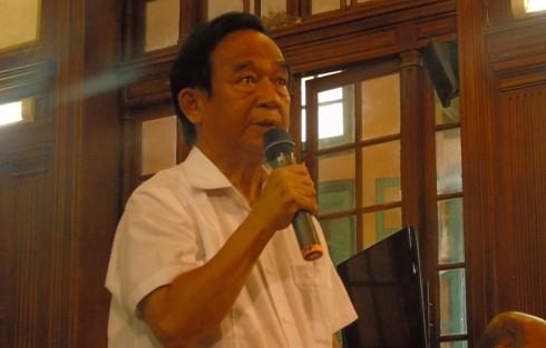 Giáo sư Nguyễn Lân Dũng đặt câu hỏi đối với cơ quan chức năng