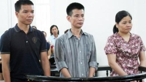Vợ chồng Lê Thị Kim Oanh và đồng phạm