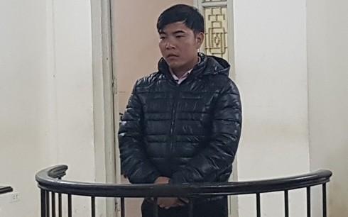 Chu Văn Hùng tại phiên tòa