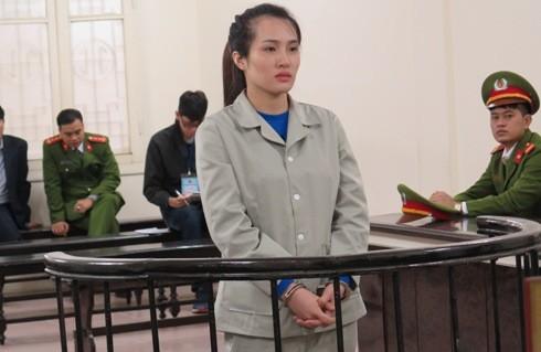 Nguyễn Thị Hiền tại phiên tòa