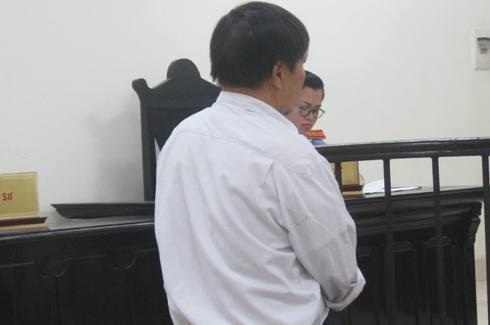 Bị cáo Nguyễn Ngọc Sơn tại phiên tòa phúc thẩm