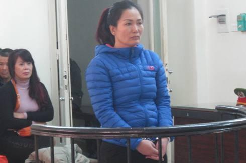 Lưu Thị Kim Giang tại phiên tòa phúc thẩm