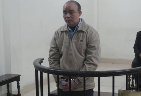 Bị cáo Nguyễn Xuân Trịnh tại phiên tòa