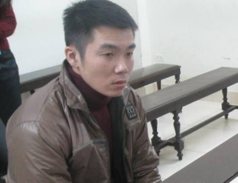 Bị cáo Nguyễn Trung Thông tại phiên tòa phúc thẩm