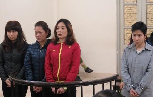 Các bị cáo trong vụ ma túy Bắc - Nam bị đưa ra xét xử