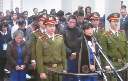 Cựu Giám đốc Chi nhánh Agribank Nam Hà Nội - Phạm Thị Bích Lương cùng các bị cáo liên quan