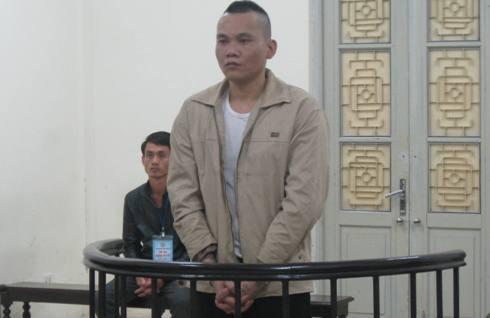 Bị cáo Nguyễn Văn Tú tại tòa