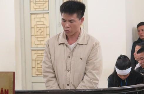 Bị cáo Nguyễn Văn Liên (tức Nam) bị đưa ra xét xử tại tòa