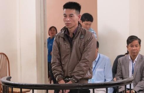 Cựu Giám đông Công ty Thành Nam - Nguyễn Quang Thịnh tại phiên tòa