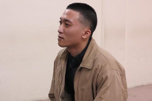 Bị cáo Nguyễn Quang Anh tại phiên tòa