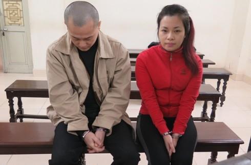 Nguyễn Thị Hằng Ly cùng đồng phạm tại phiên tòa