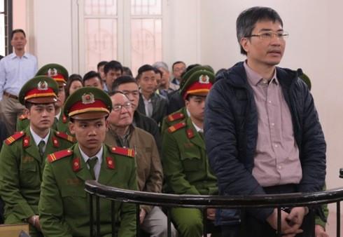 Vai trò thứ hai nhưng Giang Kim Đạt lại là bị cáo tham ô số tiền nhiều nhất