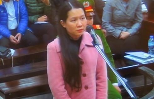 Trước tòa, Nguyễn Minh Thu - cựu Tổng giám đốc OceanBank nói
