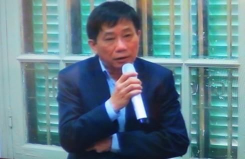 Trong khi đó, ông Ninh Văn Quỳnh - nguyên Kế toán trưởng PVN lại bác bỏ việc nhận tiền