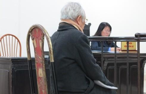 Bị cáo Nguyễn Văn Viên tại phiên tòa phúc thẩm