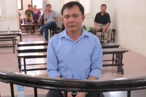 Bị cáo Bùi Văn Vượng tại phiên tòa