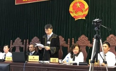 HĐXX sơ thẩm vụ án Hà Văn Thắm cùng đồng phạm